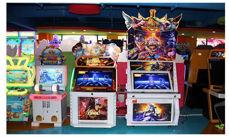 王者荣耀投币游戏机工厂展厅实拍
